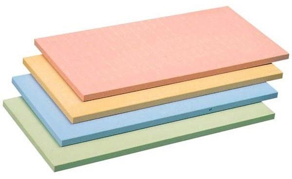 【アサヒゴム】アサヒ カラーまな板 (合成ゴム) SC-101 グリーン