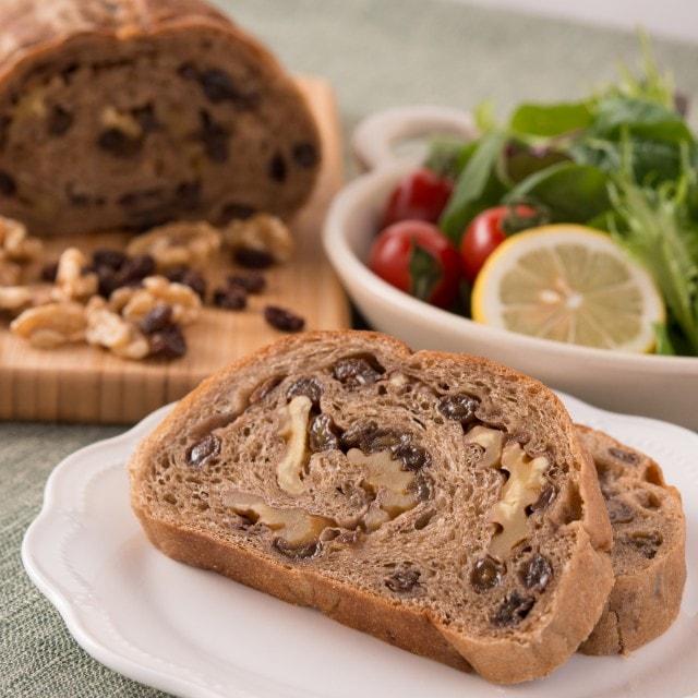 天然酵母パン|くるみパン&レーズンパン|自然素材