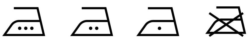 アイロン仕上げの記号