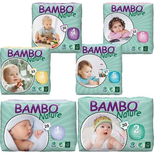 BAMBO Nature プレミアム紙おむつ