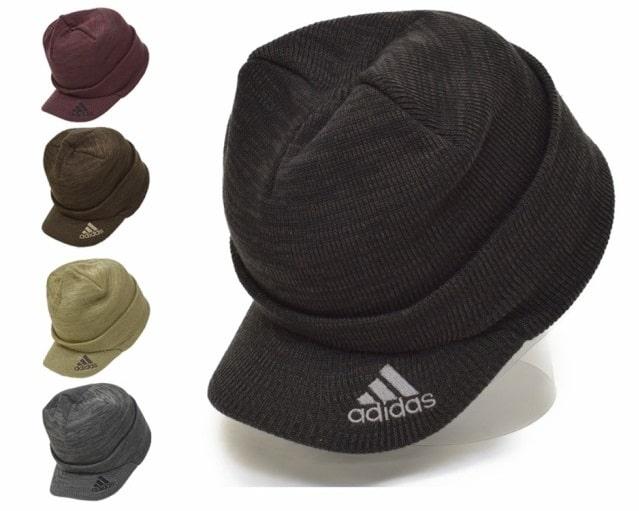 アディダス ゴルフ|ツバ付き ニット帽