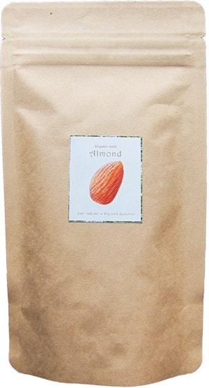 有機オーガニック素材 無農薬「生アーモンドナッツ100g」