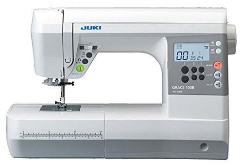 JUKI コンピューターミシン GRACE 100B ハードケース付き