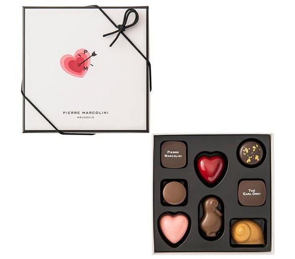 ピエールマルコリーニ チョコレート レ バレンタイン セレクション 8個入