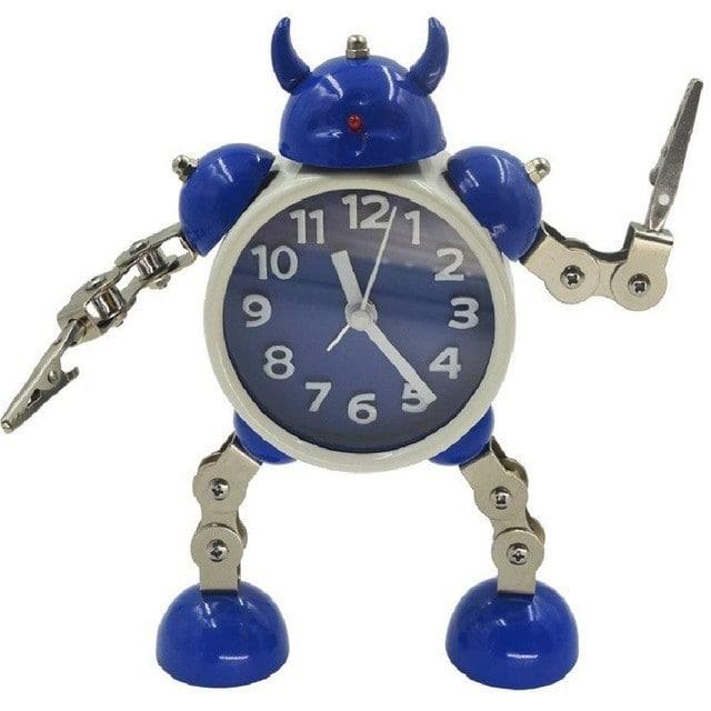 目覚まし時計 ロボット トランスフォーム