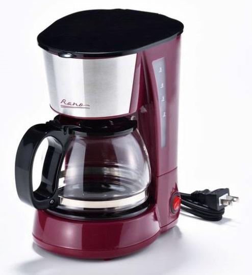 和平フレンズラノー コーヒーメーカー5カップ(ステンレス)MJ-0635