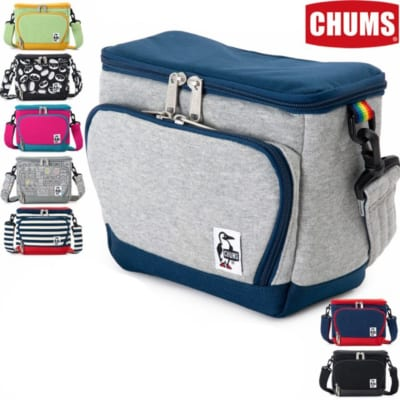 チャムス / CHUMS ボックス カメラバッグ スウェットナイロン(ショルダーバッグ)