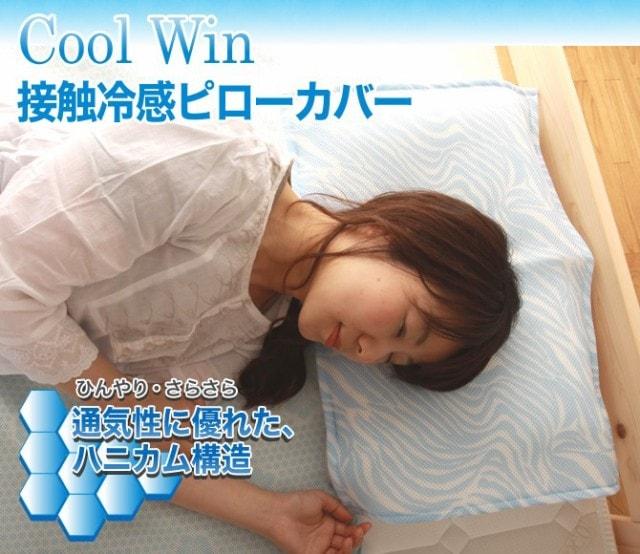 接触冷感 Cool Win 枕カバー