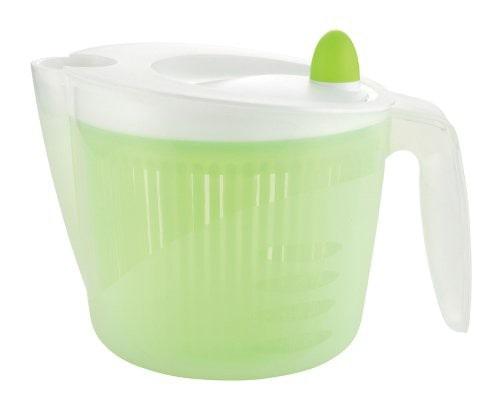 パール金属 サラダスピナー Just right 野菜水切り器 GREEN C-8492