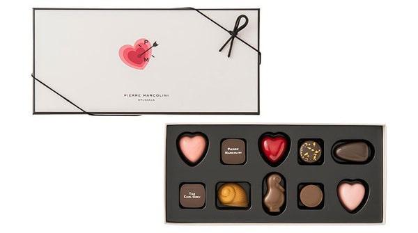 ピエールマルコリーニ チョコレート レ バレンタイン セレクション 10個入