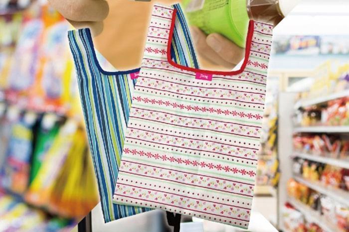 コンビニとスーパーでエコバッグは使い分けろ!機能的で袋詰め楽ちん!
