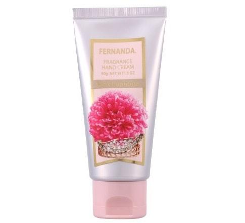 フェルナンダ FERNANDA フレグランスハンドクリーム ピンクエウフォリア 50g