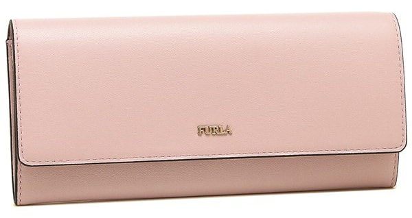 長財布ピンク