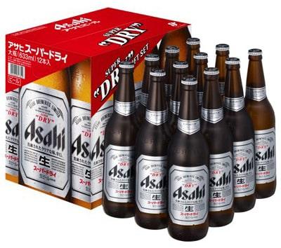 アサヒ スーパードライ瓶ビールセット