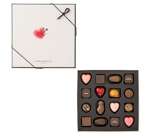 ピエールマルコリーニ チョコレート レ バレンタイン セレクション 16個入