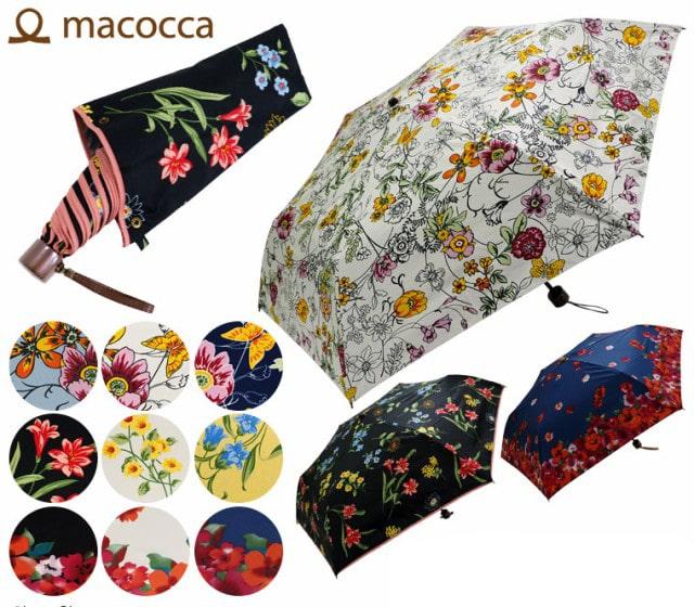 macocca 花柄 晴雨兼用