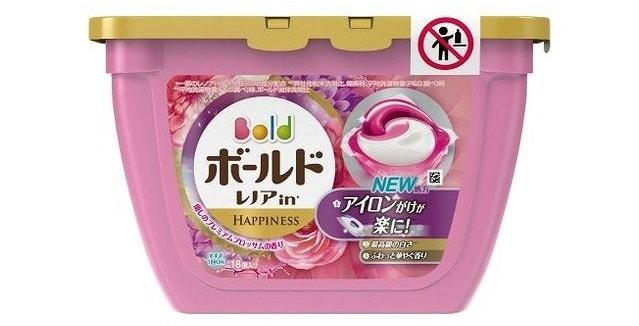 P&G ボールド ジェルボール3D 癒しのプレミアムブロッサムの香り (18個入)