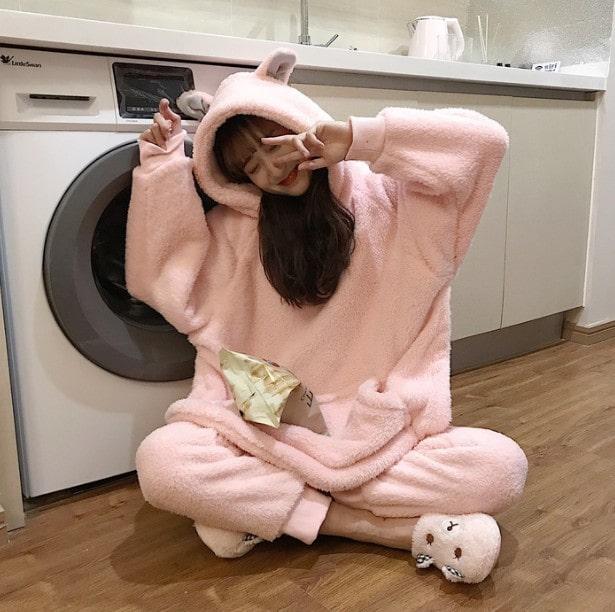 オールインワン 韓国ファッション パジャマ 大人着ぐるみ