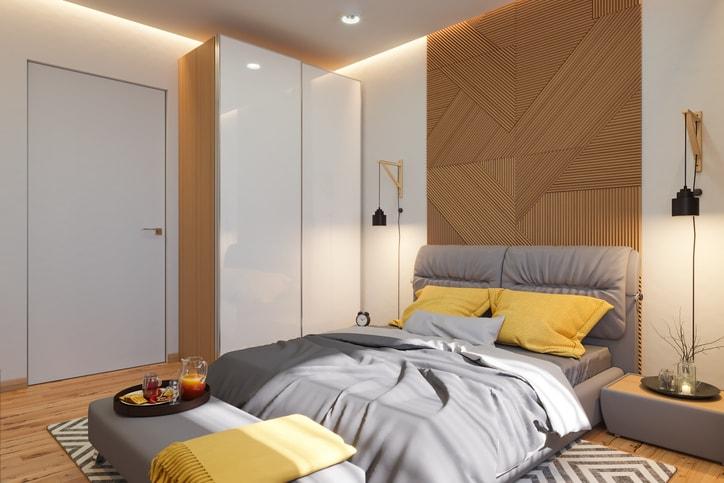 北欧インテリア 寝室