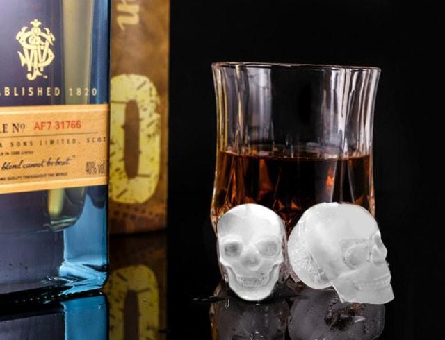製氷皿 スカル アイストレー ドクロ 髑髏 アイスキューブ