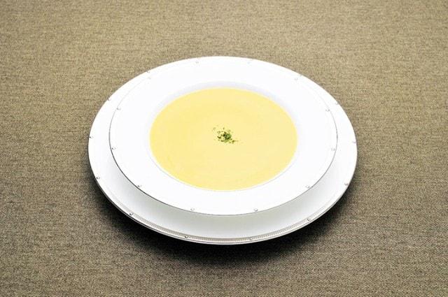 神戸開花亭 パンプキンポタージュスープ