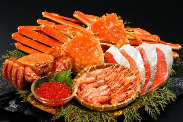 北海道直送!贅沢な海鮮セット!