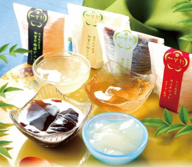 彩りゆたかな加賀のジュレ 4種