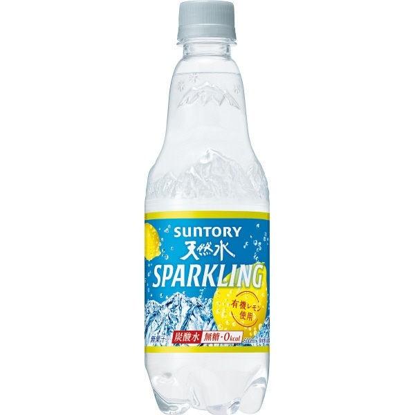 サントリー 天然水スパークリングレモン 500ml
