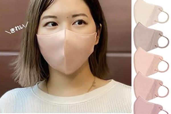 これ不織布マスク?!小顔効果&血色カラーでおしゃれと飛沫対策の両方取り!