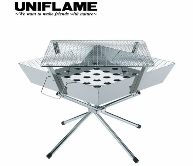 ユニフレーム キャンプ用品 焚き火 ファイアグリル 683040