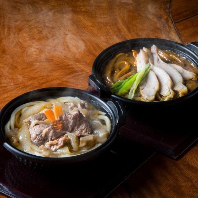 うどん本陣山田家 讃岐うどん すき焼うどん カレーうどん詰め合わせ 4食