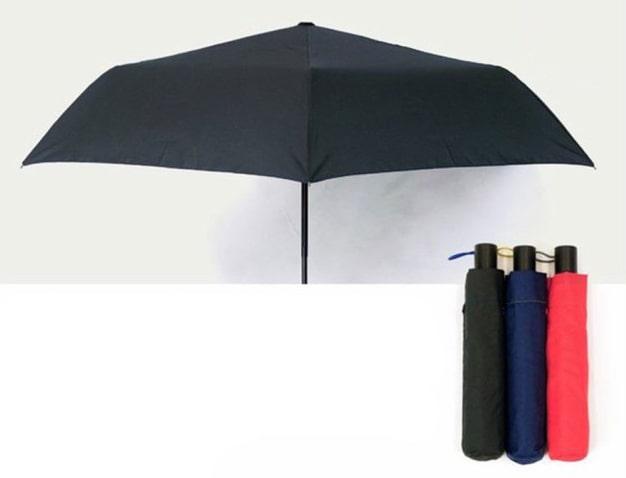 小宮商店 折りたたみ傘 おしゃれで安全なワンタッチ開閉傘