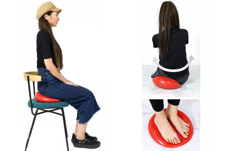 座るだけでやせ体質に?!バランスディスクが体幹を鍛えるのに最適すぎた