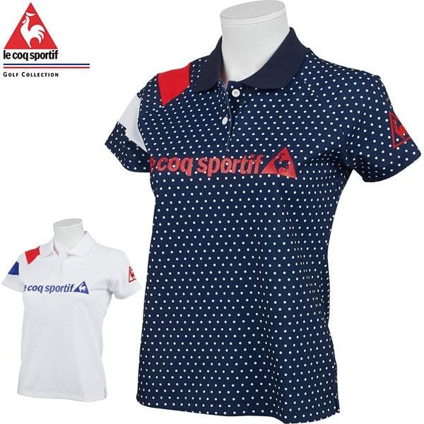 ルコック ゴルフ ソレイユカノコ半袖シャツ