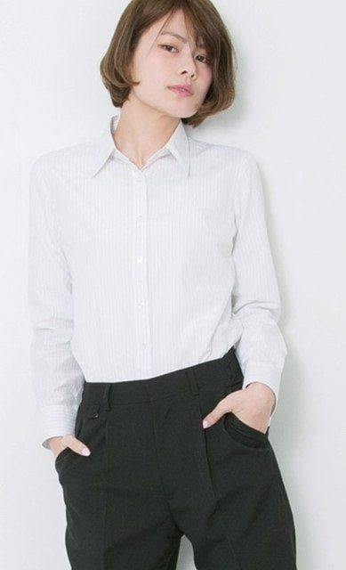 ワイシャツストライプ