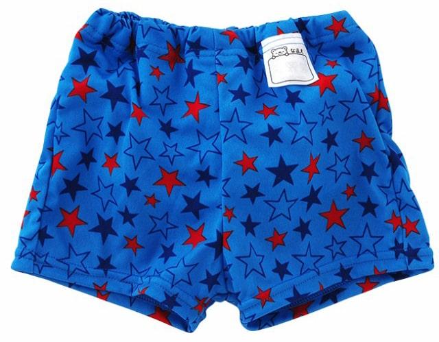 「chuckleBABY」水遊びおむつ トランクス型 星柄