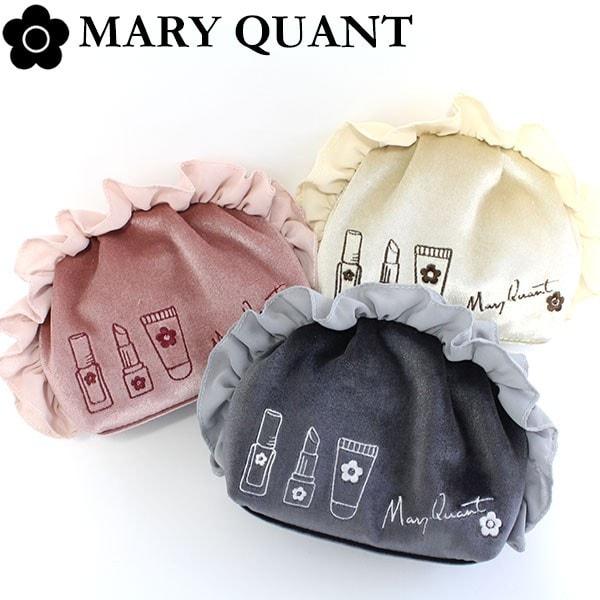 MARY QUANT(マリークワント)ラウンドタックポーチ