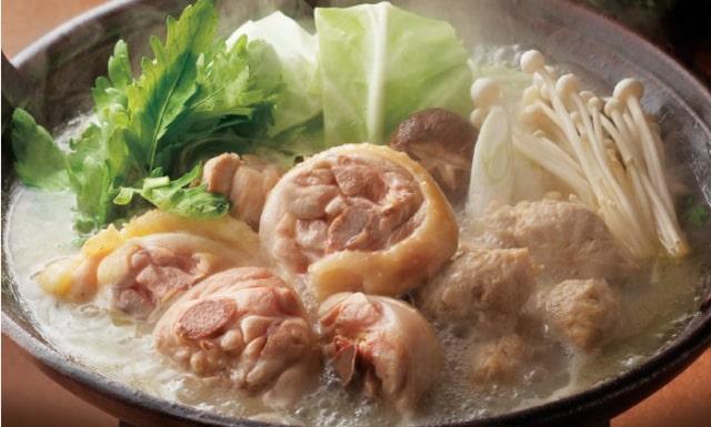 本場の味!九州ブランド鶏の水炊きセット