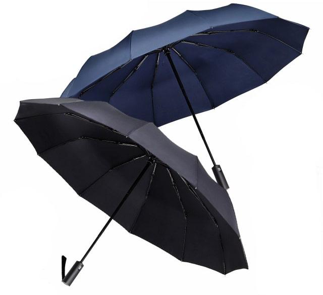 mujina(ムジナ)ワンタッチ自動開閉折りたたみ傘