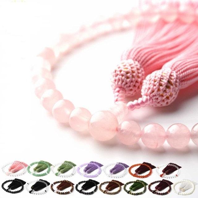 数珠 女性用 数珠入れ付