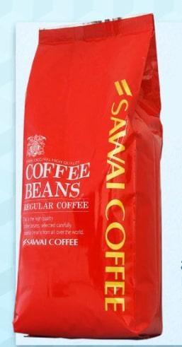 澤井珈琲 コーヒー専門店のカフェインレスアイスブレンド 500g×2袋