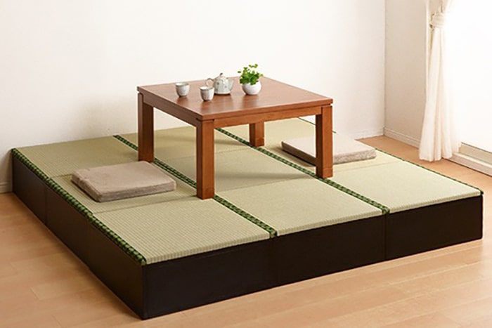 和室がほしい人必見!収納機能付きのユニット畳なら置くだけ簡単!