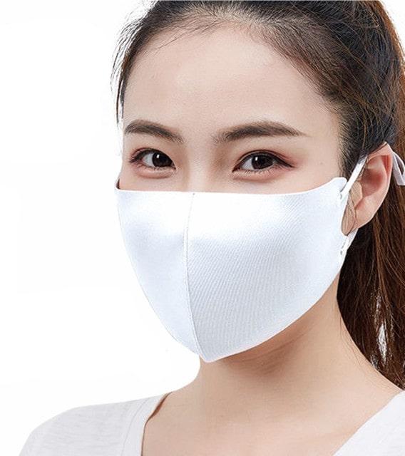 夏用 接触冷感マスク 3枚