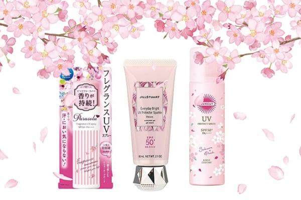 【今日は何の日?】春が来る!桜色パッケージの日焼け止めで紫外線対策☆