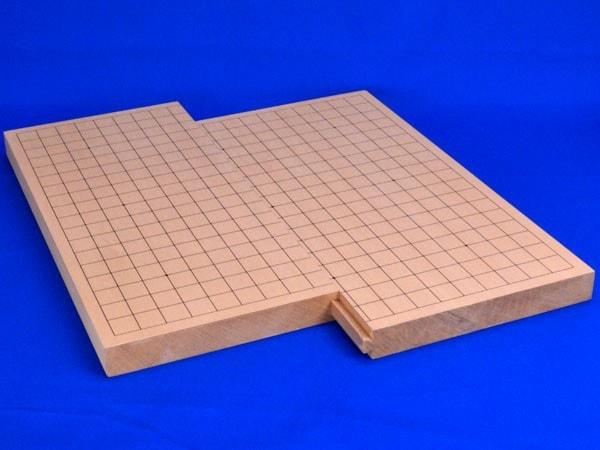 碁盤 スライド卓上碁盤 新桂1寸(19路9路盤)
