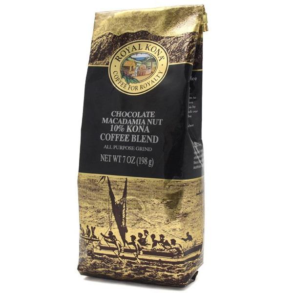 ロイヤルコナコーヒー ROYAL KONA COFFEE チョコレートマカダミアナッツ 198g 中挽き