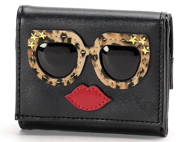 SPIRALGIRL/フェイス三つ折り財布