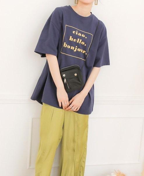 ブージュルード(Bou Jeloud)/【WEB限定】bonjourロゴTシャツ
