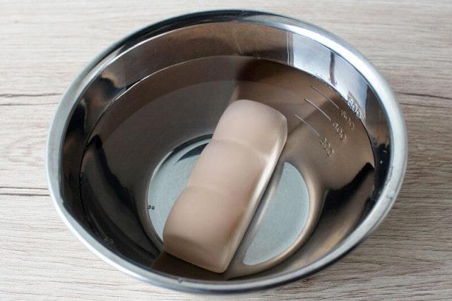 水に浸してトースターに入れるだけ