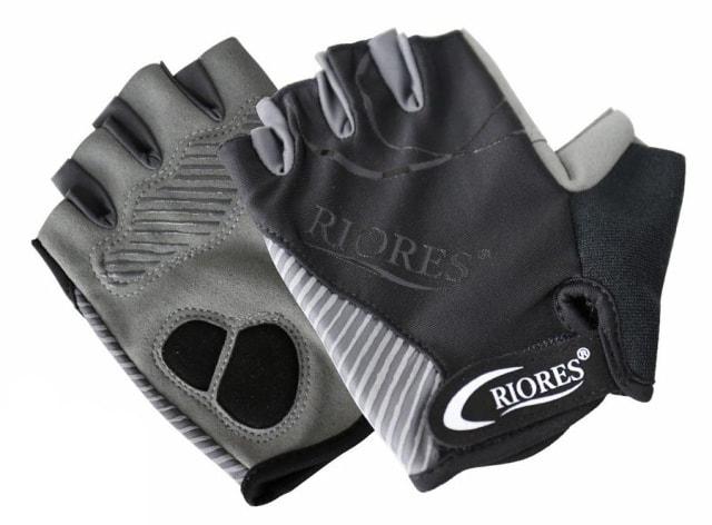 RIORESトレーニング グローブ ブラック×グレー SML 3サイズ